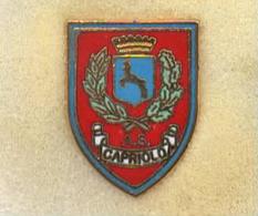AS Capriolo Brescia Calcio  Distintivi FootBall Pins Soccer Spilla Italy - Calcio
