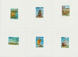 Vietnam 1983 Série Bateaux 381-386 6 Mini épreuves ** MNH - Viêt-Nam