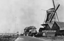 Windmolen Molen Windmill Moulin à Vent   Boulevard Met Molen Harderwijk  Café Restaurant Ijssemeer  Fotokaart    L 558 - Windmolens