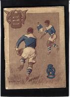 RUGBY Fascicule Publicité Rugby Avignon Sport 72 Pages Couverture Dessin De Vidal - Werbung