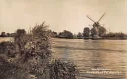 Windmolen Molen Windmill Moulin à Vent   Watermolen Ouderkerk Aan De Amstel  Echte Fotokaart     L 563 - Windmolens