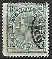 ESPAGNE   -   Impot De Guerre   -  1876 .   Y&T N° 5  Oblitéré . - Impuestos De Guerra