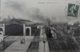 Intérieur De La Gare - Vierzon