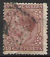 ESPAGNE   -   Impot De Guerre   -  1877 .   Y&T N° 10  Oblitéré . - Impuestos De Guerra