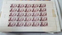 LOT 467230  TIMBRE DE FRANCE NEUF** LUXE N°PA21  FEUILLE - Full Sheets