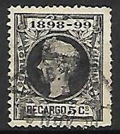 ESPAGNE   -   Impot De Guerre   -  1898 .   Y&T N° 27 Oblitéré . - Impuestos De Guerra