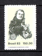 Brasile   -  1983. Martin Lutero. Martin Luther. MNH - Celebrità