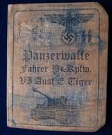 WW 2 Germany Soldier Ausweis. (Not Original) - 1939-45