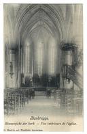 Bambrugge  Erpe-Mere   Binnenzicht Der Kerk  Vue Intérieure De L'église  Edit D Hendrix - Erpe-Mere