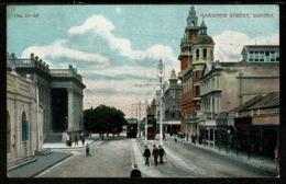 Ref 1320 - Early Postcard - Gardiner Street Durban - South Africa - Afrique Du Sud