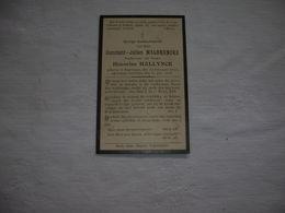 Constant Malbrancke (Poperinge 1852-Poperinge 1922;Hallynck - Andachtsbilder