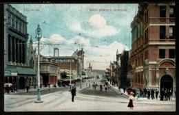Ref 1320 - Early Postcard - West Street - Durban South Africa - Afrique Du Sud