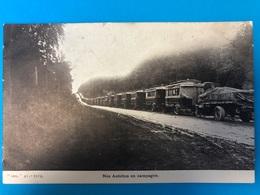Lot 5 CP WW1 Pièces D'artillerie Et  Autobus En Campagne - Guerre 1914-18