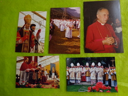 Lot De Photos  Ceremonie Religieuse -lieu A Determiner- - Personnes Anonymes