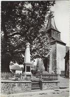 23 Mortroux  Place De L'eglise Et Le Monument - Autres Communes
