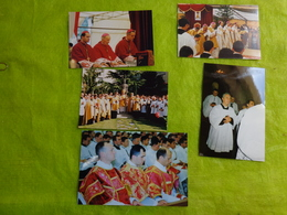 Lot De Photos  Ceremonie Religieuse -lieu A Determiner- - Anonieme Personen