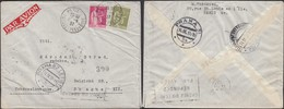 France - Airmail (Par Avion) Cover, PARIS 13.9.1937 - Prague / Praha, Czechoslovakia. - 1927-1959 Cartas