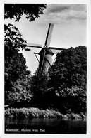 Windmolen Molen Windmill Moulin à Vent   Alkmaar  Molen Van Piet Echte Fotokaart    L 579 - Windmolens