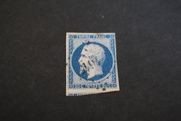 Timbre N° 14A Oblitération Lanouaille En Dordogne,voisin En Sud. - 1853-1860 Napoléon III.