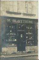 SAVIGNY SUR BRAYE - CARTE PHOTO -HORLOGERIE -  M. BLOTIERE - Francia