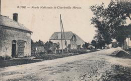 Auge - Route De Charleville - Hirson - Francia