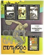 # St.Vincent & Gren.2011**Mi.7043-46  Summer Olympic Games, London (1908 And 2012) , MNH  [15;21] - Summer 1908: London