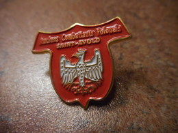 A037 -- Pin's Anciens Combattants Polonais Saint Avold -- Dernier Vendu 09/2016 - Militaria