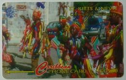 ST KITTS & NEVIS - GPT - Carnival Christmas - STK-197B - 197CSKBB - $20 - 5000ex - Used - St. Kitts & Nevis
