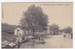Algérie - Environs De Médéa - Loverdo - L'église - Autres Villes
