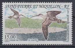 Saint Pierre Et Miquelon 1996 Zugvögel Brachvogel Mi.-Nr. 711  **  - Ohne Zuordnung