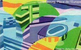 CARTE PUCE * P&T LUXEMBOURG * 50U * TT8 * GEM6 * 2007 * LUXEMBOUR PLACE DE L'EUROPE - Luxemburg