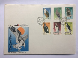 Zimbabwe Birds Of Prey 1984 FDC - Zimbabwe (1980-...)