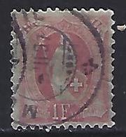 Switzerland 1882 Helvita  Mi.63 - 1882-1906 Coat Of Arms, Standing Helvetia & UPU