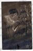 1924 - Natale Ragazza Girl - Buon Natale - Annullo San Secondo Di Pinerolo - Christmas - Non Classificati