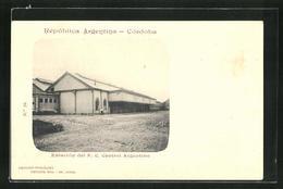 AK Córdoba, Estación Del F.C. Central Argentino, Bahnhof - Argentina