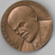 Médaille LENINE. Centenaire 1870 /1970 - Autres