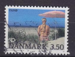 Denmark 1991 Mi. 1003  3.50 Kr NORDEN Nordia Issue Tourismus Badestrand Auf Der Insel Fanø - Dänemark