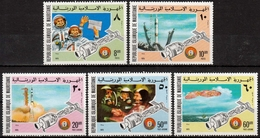 Mauretanien MiNr. 522/26 ** Raumfahrt Apollo-Sojus - Mauretanien (1960-...)