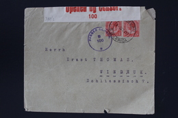 South African Occupation Of Southwest Africa Forerunner OMARURU -> Windhuk Altered German Cancels +censored - Zuid-Afrika (...-1961)