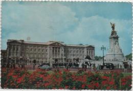 Londra London: Buckingham Palace. Viaggiata 1976 Con Annullo A Targhetta Enjoy A Day At Brighton Races August - Buckingham Palace