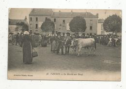 Cp , Commerce , Marché Aux Boeufs ,  56 ,  VANNES , Vierge - Marchés