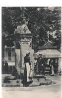 CPA B90 AIX LES BAINS- La Fontaine-buvette-source MASSONAT-employée-belle Carte éd. GILETTA 8204 - Aix Les Bains