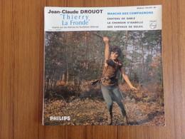 """Disque 45 T, Thierry La Fronde """" Marche Des Compagnons, Chateau De Sable + 2 Titres """" - Filmmusik"""