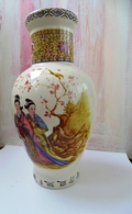 Big Chinese Vase Without Stamp On The Bottom - Céramiques