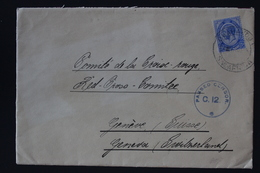 South African Occupation Of Southwest Africa Forerunner 1916 Red Cross Geneva  Censored - Südafrika (...-1961)