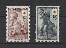 FRANCE.  YT   N° 1048/1049  Neuf **  1955 - Neufs