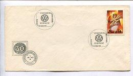 25° ANIVERSARIO VOLKSWAGEN DO BRASIL / VOLKSWAGEN DU BRÉSIL 25ème ANNIVERSAIRE. BRESIL 1978 ENVELOPE FDC -LILHU - Auto's