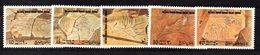 CI1341A - LIBIA LYBIA 1978 , Serie Yvert N. 669/673  ***  MNH  Archeologia - Libia