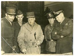 Original Press Photograph WW2 / WWII Allied Supreme Commander Visit EISENHOWER - Guerra, Militari