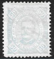 Timor – 1893 King Carlos 50 Réis - Timor